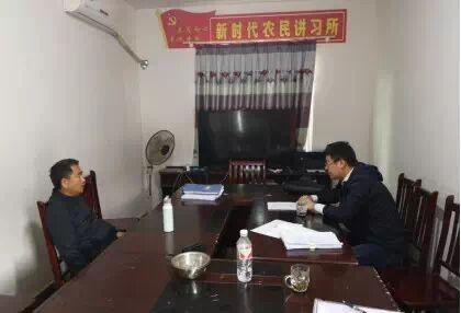 市城投集团公司党委委员、副总经理于大鹏赴张湾村开展扶贫走访工作
