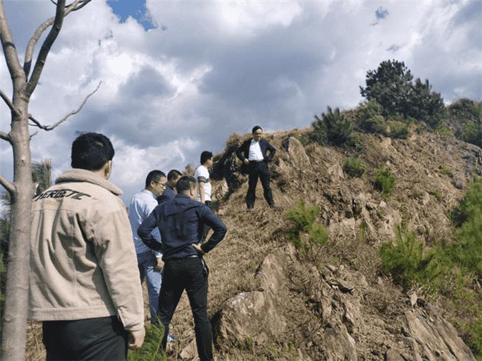 公司 开展石阡泉都矿泉水取水工程点边坡防护治理工作检查
