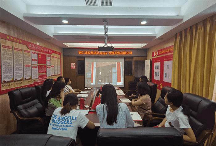 铜仁城投集团九龙亿博国际官网公司工会、团支部 联合开展集中学习会